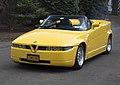 1993 Alfa Romeo R.Z. no. 145, front left (Greenwich 2019).jpg