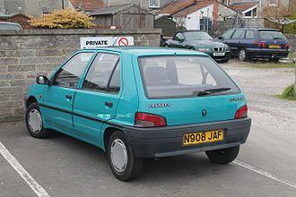 Peugeot 106 - Peugeot 106 Phase I