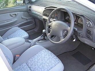 Ford Falcon (EL) - Interior, Falcon GLi