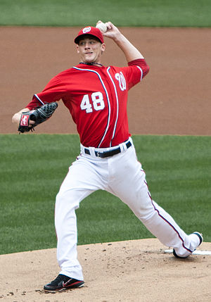 Ross Detwiler - Detwiler pitching for the Washington Nationals in 2011