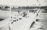 1 Volkach Main, bridge, inauguration 1892.jpg