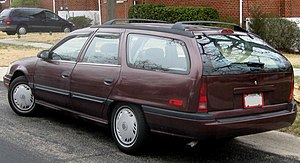 Mercury Sable - Mercury Sable wagon