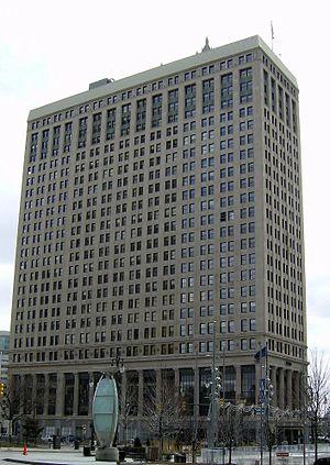 First National Building - Image: 1stnationalbldg Detroit