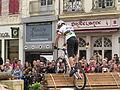 2ème Trial Sports Challenge Entreprises de Sens - 32 - Vincent Hermance dans la quatrième zone.JPG