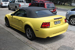 Ford Mustang (fourth generation) - 2002 Ford Mustang Cobra convertible