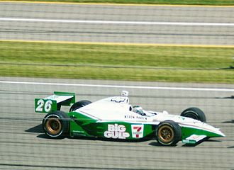 Paul Tracy - Tracy competing in the 2002 Indy 500