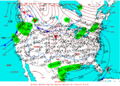 2003-01-12 Surface Weather Map NOAA.png