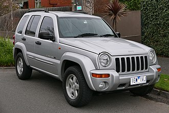 Jeep Cherokee - Image: 2003 Jeep Cherokee (KJ MY03) Limited Edition wagon (2015 07 09) 01