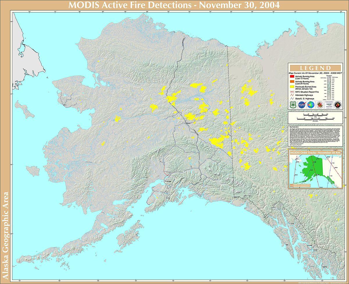 2004 Alaska Wildfires Wikipedia