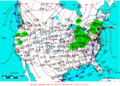 2005-04-23 Surface Weather Map NOAA.png