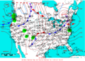 2006-04-15 Surface Weather Map NOAA.png