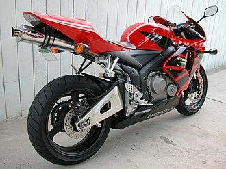 Honda CBR600RR - Image: 2006Honda CBR600RR 002
