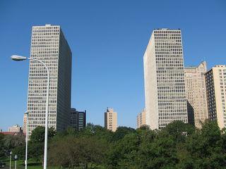 Regents Park (Chicago) building in Chicago, Illinous, USA