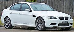 BMW M3 E90.