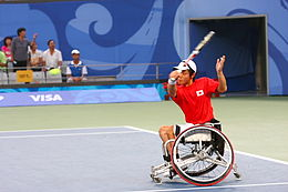 2008 Summer Paralympics Wheelchair tennis - men.jpg