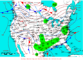 2009-03-13 Surface Weather Map NOAA.png