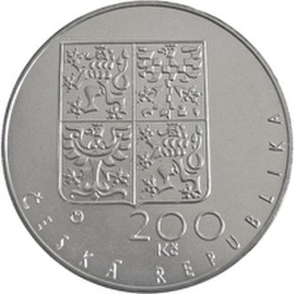 Commemorative coins of the Czech Republic - Image: 200 Kc 1994