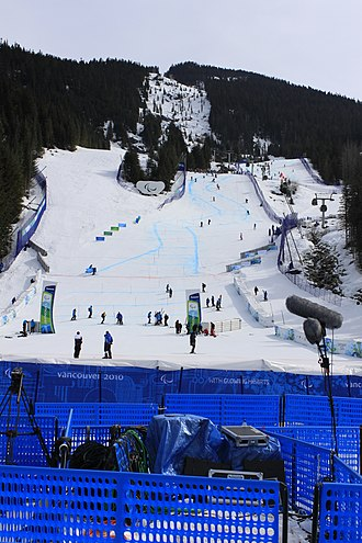 Alpine skiing at the 2010 Winter Paralympics - Whistler, Vancouver, the finals of the Alpine skiing.