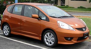 2010 Honda Fit photographed in College Park, M...