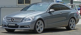 2010 Mercedes-Benz E 350 (C 207) Avantgarde coupe (2010-12-28).jpg