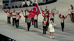 2010 Opening Ceremony - Turkey entering cropped.jpg