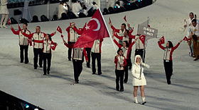 1976 Summer Olympics national flag bearers