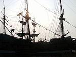 20110417 Lelystad; Batavia Haven 14 ship at Batavia Harbour.JPG