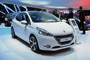 Geneva Motor Show - Peugeot 208 at Geneva 2012