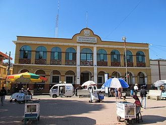 Totonicapán - Municipal building of Totonicapán