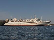 """2012-09-14 Севастополь.  Плавучий госпиталь """"Енисей"""" (3).jpg"""