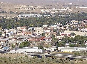 Elko, Nevada - Downtown Elko