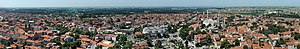 20120604 Edirne view from the top of the Minaret of Selimiye Mosque Edirne Turkey Panoramic.jpg