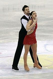 Stefania Berton Italian pair skater