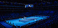 2014-11-12 2014 ATP World Tour Finals show court during Marin Cilic vs Thomas Berdych match 1 by Michael Frey.jpg