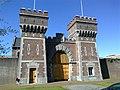 2015, Scheveningen Prison The Hague, old main gate (12).jpg