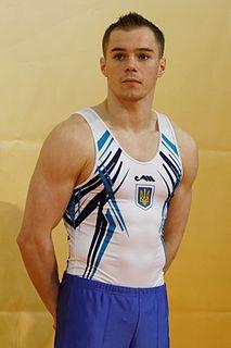 Oleg Vernyayev Ukrainian gymnast