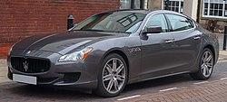 2015 Maserati Quattroporte DV6 Automatic 3.0 Front.jpg