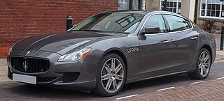 Maserati Quattroporte Full size luxury car manufactured by Italian automobile manufacturer Maserati