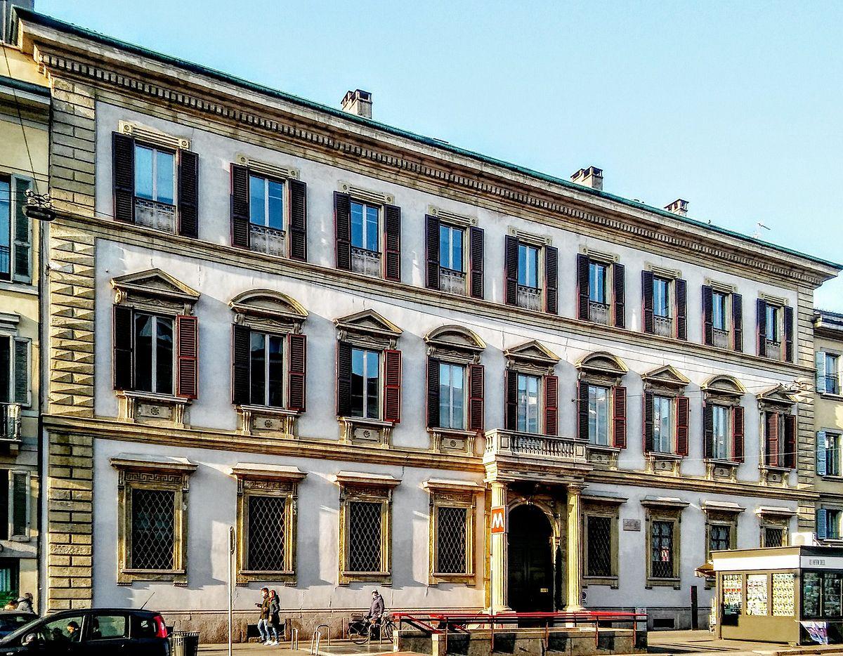 Palazzo bovara milano wikipedia for Corso stilista milano
