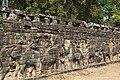 2016 Angkor, Angkor Thom, Taras Słoni (17).jpg