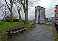 2016 Woolwich, St Mary's Gardens 25.jpg