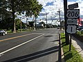 2017-09-09 16 42 11 View south along U.S. Route 1 Business, U.S. Route 206 and Mercer County Route 583 (Princeton Avenue) at Mulberry Street in Lawrence Township, Mercer County, New Jersey.jpg