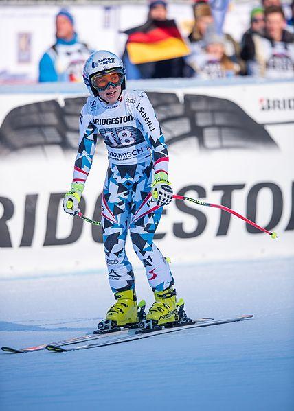 File:2017 Audi FIS Ski Weltcup Garmisch-Partenkirchen Damen - Nicole Schmidhofer - by 2eight - 8SC9942.jpg