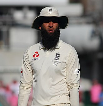 Moeen Ali - Moeen Ali during the 2017/18 Ashes