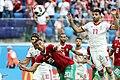 2018 FIFA World Cup Group B march IRN-MAR 29.jpg