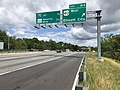 2019-06-14 11 27 21 View north along the Inner Loop of the Baltimore Beltway (Interstate 695) at Exit 15B (U.S. Route 40 WEST, Ellicott City) in Woodlawn, Baltimore County, Maryland.jpg