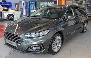2019 Ford Mondeo Titanium Edition Hybrid Estate facelift 2.0 Front.jpg