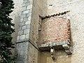 207 Església de Sant Pere (Canet de Mar), restes de capella, façana oest.JPG