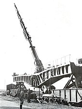 paris gun wikipediaa k12 railway gun elevated to the firing position