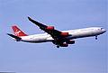 217bg - Virgin Atlantic Airbus A340-311, G-VFLY@LHR,27.03.2003 - Flickr - Aero Icarus.jpg